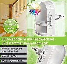 LED RGB Nachtlicht mit Automatikfunktion direkt