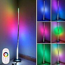 LED RGB Stehlampe, 20W Spiral Design Ecke