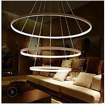 LED Runde Esszimmer Kronleuchter Drei Kreis