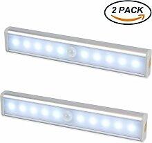 LED Schrankbeleuchtung, EMIUP 2er Set 10 LED