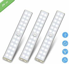 LED Schrankbeleuchtung mit Bewegungsmelder 24 LED