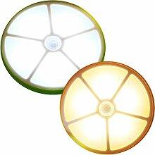 LED-Schrankbeleuchtung, Notfall Wandlampe