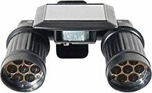 LED Security Solar-Strahler Wali 2er Spotlight mit