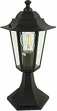 LED Sockelleuchte Kingston Außenbereich Wandlampe