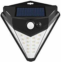 LED Solar-Außenleuchte, Induktionsleuchte Des