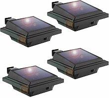 LED Solar Dachrinnenleuchte, KEENZO Solarleuchten