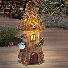 LED Solar Lampe Garten Beet Deko Beleuchtung Baum