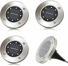 LED Solar Leuchte außen Garten Solarleuchte