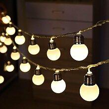 LED Solar Lichterkette Außen,DINOWIN 20 LED