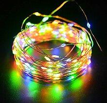 LED Solar Lichterkette FeiliandaJJ 12M 100LED