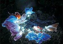 LED Solar-Lichterkette Schmetterling Lichterkette