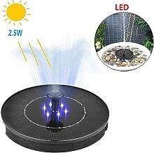LED Solar Springbrunnen,2.5W Garten Solar