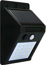 LED Solar Wandleuchte mit dem Sensor LED/2,2W