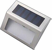 LED Solarleuchte Außen Solar Wandleuchte