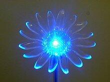 LED Solarleuchte Gartenleuchte Sonnenblume -