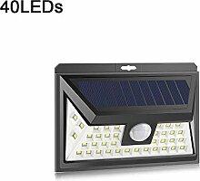 LED Solarleuchte Outdoor Garten Wandleuchte