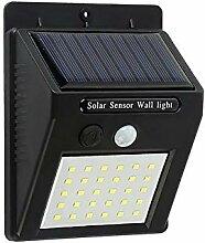 LED Solarleuchte Solar PIR-Bewegungsmelder Lampe