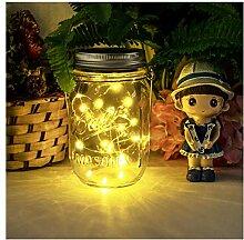 Led Solarleuchten Garten - NEWYANG Mason Jar