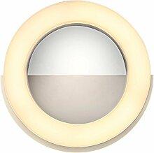 Led Spiegel Minimalist Modern Badezimmer Lichter Wandleuchten Bad Beleuchtung Make-up Lampen 23 × 23 × 8 cm