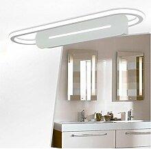 LED-Spiegel vorne Lampe Winkel verstellbare Bad Spiegel Schrank Lichter WC moderne Schaukel Wand Lampe ( Farbe : Weißes Licht-47*17cm )