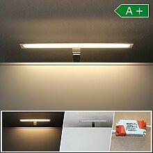 LED Spiegelbeleuchtung 40cm Badleuchte IP 44 Spiegellampe Wandleuchte Badezimmer
