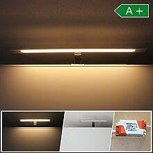 LED Spiegelbeleuchtung 60cm Badleuchte IP 44 Spiegellampe Wandleuchte Badezimmer