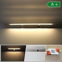 LED Spiegelbeleuchtung 74cm Badleuchte IP44 Spiegelleuchte Spiegelschrank Bad