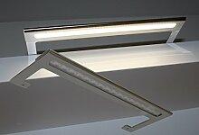 LED Spiegelleuchte Chrom / Mod. 7090 / Aufbauleuchte 6W 600LM 4000K Badleuchte Möbelleuchte Schrankleuchte LED Beleuchtung HELITEC