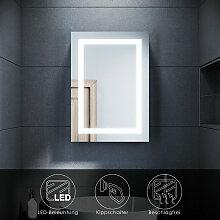 LED Spiegelschrank mit Beleuchtung Badspiegel 50 x