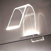 LED Spiegelschrankleuchte Badleuchte Badlampe Spiegelleuchte Aufbauleuchte , Lichtfarbe:neutralweiß