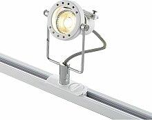 LED-Spot Arika für 1-Phasen-Schienensystem, weiß