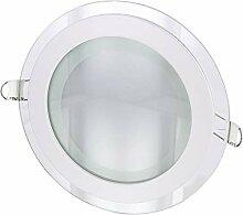LED Spot Einbaustrahler Kristallglas - mit LED