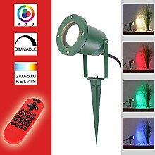 LED Spotlight Außenleuchte BT9001 grün IP44 |