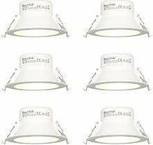 LED Spots Einbaustrahler Bad Einbauleuchten Flach