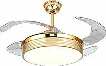 LED Stealth Ventilator Licht Kupfer