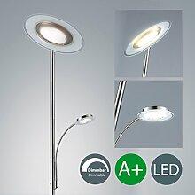 LED Stehlampe dimmbar I Stehleuchte modern I