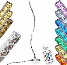 LED Stehlampe Saginaw, moderne Stehleuchte aus
