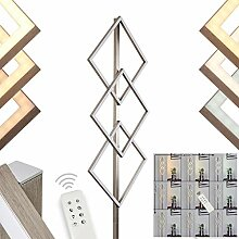 LED Stehlampe Veyrier, moderne Stehleuchte aus