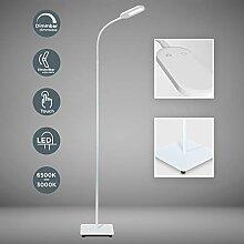 LED Stehlampe weiß dimmbar I inkl. 8W 600lm LED