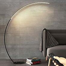 LED Stehleuchte, Bogen Design Stehlampe mit LED