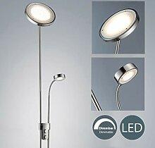 LED Stehleuchte dimmbar I Deckenfluter mit