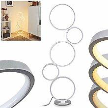 LED Stehleuchte Rodekro, Bodenlampe aus Metall in