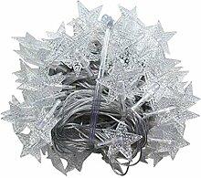 LED Stern-Schnur-Lichter,LED Sterne Lichterkette,