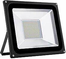 LED Strahler, 100W LED Fluter Superhell 10000LM