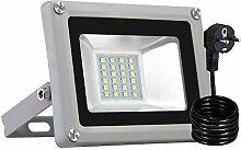 LED Strahler, 20W LED Fluter IP65 Wasserdicht