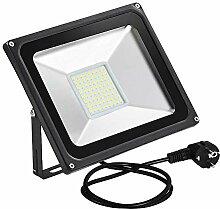 LED Strahler, 50W LED Fluter Außenstrahler