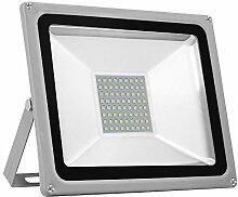 LED Strahler, 50W LED Fluter Superhell 5000LM