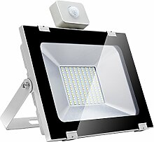 LED Strahler Außenbeleuchtung mit Bewegungsmelder