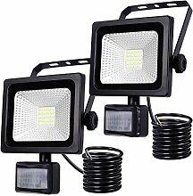 LED Strahler Bewegungsmelder Außen Fluter LED