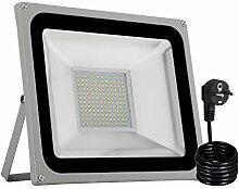 LED Strahler, Papasbox 100W LED Fluter IP65